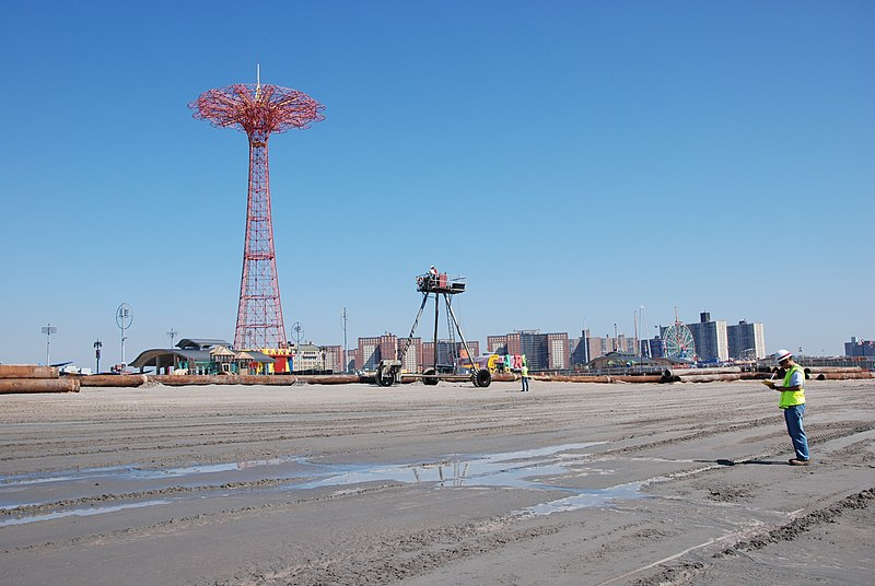 File:Coney Island Post-Sandy Beach Restoration (repair and restore of previously constructed coastal storm risk reduction project) (10019500283).jpg