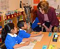 Congresswoman Pelosi Highlights Kindergarten to College at Monroe Elementary (21113917556).jpg
