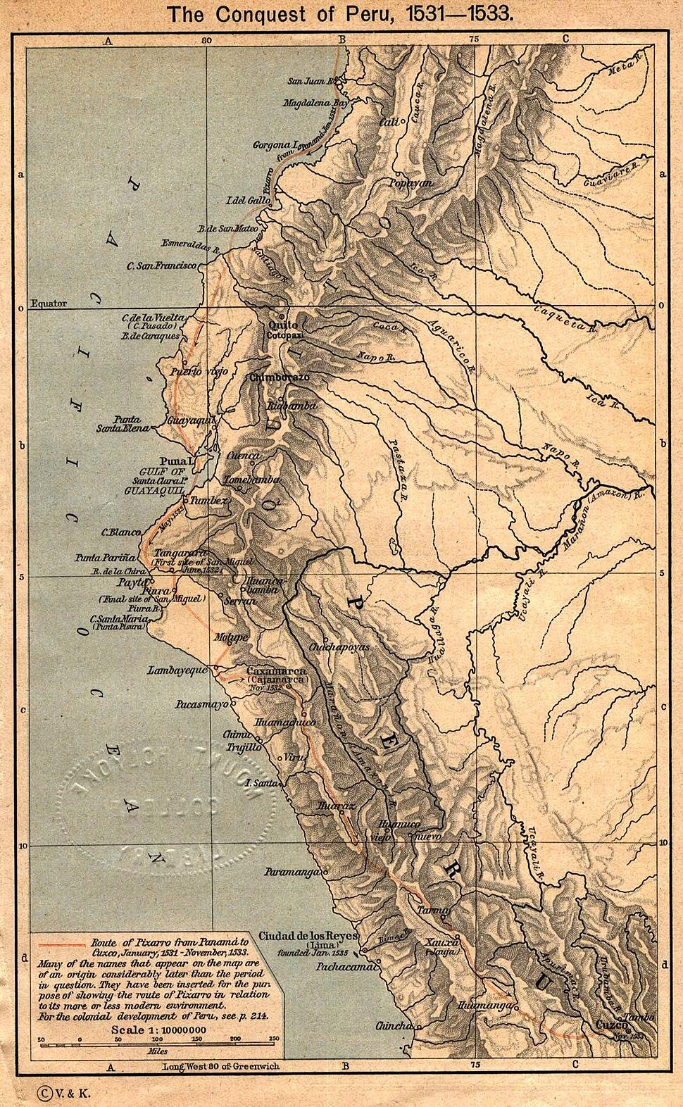 Conquest peru 1531