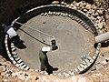 Construction de digesteurs pour une ferme, école et mosquée à Dayet Ifrah, Maroc (13244440465).jpg