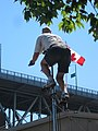 Cool unicyclist busker at Granville Island (110002).jpg