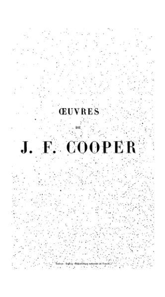 File:Cooper - Œuvres complètes, éd Gosselin, tome 9, 1839.djvu