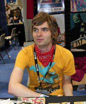 Sharknife - Creator Corey Lewis in 2006.