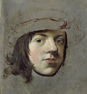 Cornelis Pietersz Bega - Self-portrait