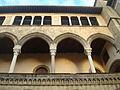 Cortile interno Museo archeologico nazionale tarquiniense 02.JPG