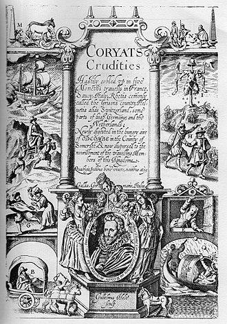 Tom Thumb - Title page Coryat's Crudities
