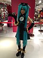 Cosplay of Hatsune Miku at the 2013 Cosplay Mart (10490811664).jpg