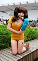 Cosplayer of Diane, The Seven Deadly Sins at PF24 20160508.jpg