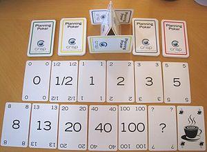 Planning poker - Image: Crisp Planning Poker Deck