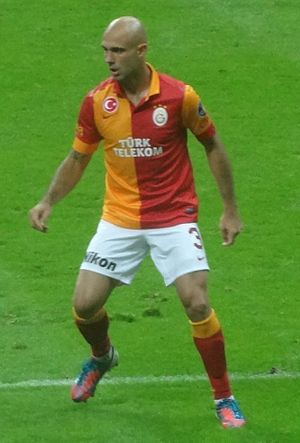 Cris (footballer) - Cris in Galatasaray colours, 2012