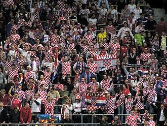 Sport in Croatia - Croatian handball fans in the 2009 World Championship