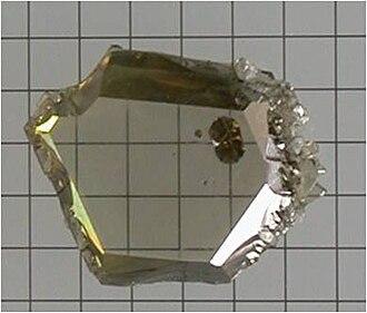 Gallium nitride - GaN crystal