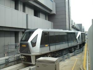 Crystal Mover - In 2006, CAAS Crystal Mover Cars have replaced their Innovia APM 100 counterparts for the operation of the Changi Airport Skytrain.