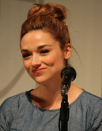 Crystal Reed - Reed at the 2012 Comic-Con in San Diego