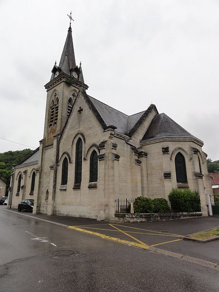 Cuffies (Aisne) église Saint-Martin