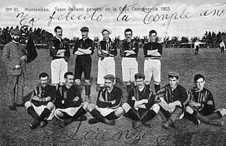 Central Uruguay Railway Cricket Club - The 1905 squad won the third title for the club