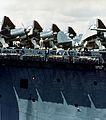 Curtiss SB2C-1 Helldivers on deck of USS Yorktown (CV-10), circa in May 1943 (80-G-K-15598).jpg