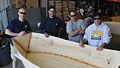 Cutter Mackinaw crew admires work during morale event 130530-G-ZZ999-015.jpg