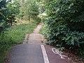 Cycleway and footpath at Ashford, Kent.jpg