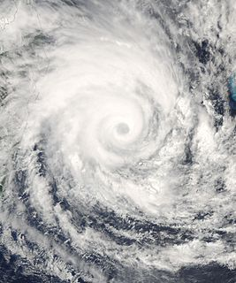Cyclone Gamede South-West Indian cyclone in 2007