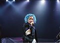 Cyndi blue hair 2000.jpg