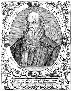 Cyriacus Spangenberg - Cyriacus Spangenberg