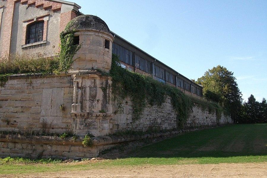 Vue du bastion d'Aumale de la cité Tirlet.