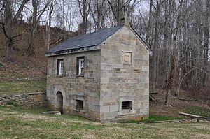 D. H. Springhouse - Image: D. H. SPRINGHOUSE, HARFORD COUNTY, MD