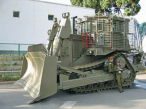 Rachel Corrie - Bulldozer similar to the one involved