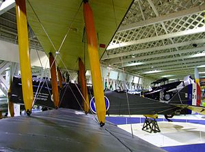 Airco DH.9A - DH.9A number F1010 at the RAF Museum, London (2010)