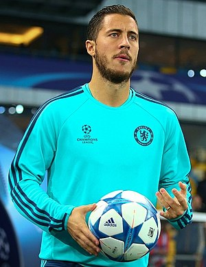 Eden Hazard - Hazard with Chelsea in 2015