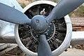 DOUGLAS AC-47D C-47B-1-DK 43-48501 engine at SADO.jpg