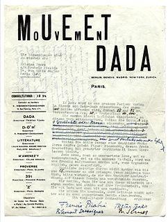 <i>Dadaglobe</i> uncompleted avant-garde anthology