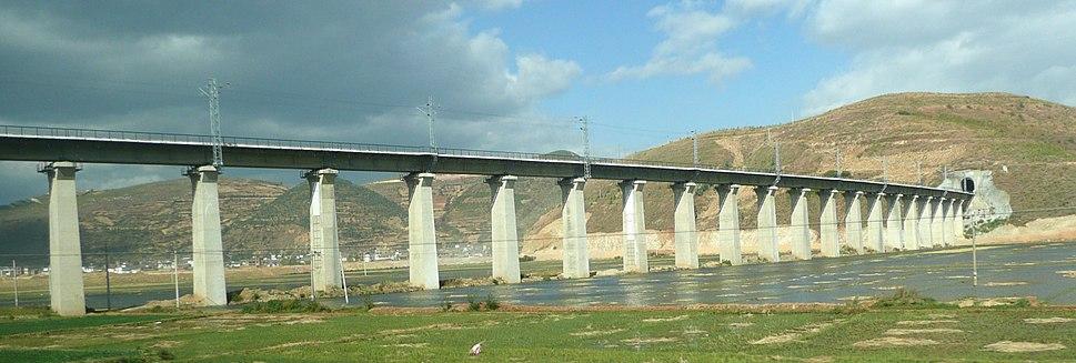 Dali Lijiang Railway in Dali