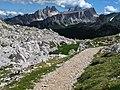 Dalla forcella Col dei Bos (Dolomiti d'Ampezzo).jpg