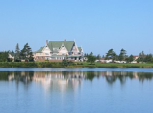 Dalvay-by-the-Sea - Dalvay-by-the-Sea Hotel is a National Historic Site located on the north shore of Prince Edward Island.