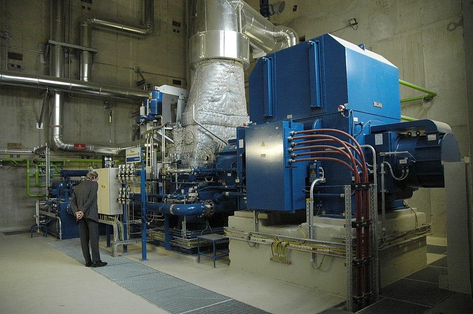 Dampfturbine 5 MW mit ELIN Generator