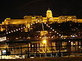 Danube River and Castle Hill at Night - Pest Side - Budapest - Hungary.jpg