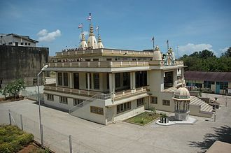 Hinduism in Tanzania - Shree Swaminarayan Temple, Morogoro Road, Dar es Salaam