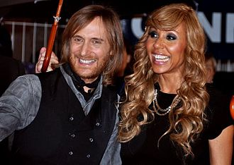 David Guetta - Guetta and his ex-wife Cathy in January 2012 at the NRJ Music Awards ceremony.