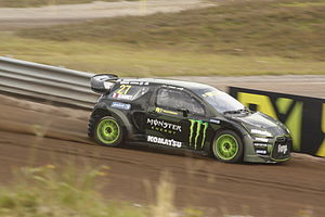 2014 World RX of Sweden - Davy Jeanney