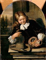 Boy with a Flagon and a Bird's Nest