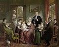De familie van Adriaan Bonebakker met Dirk L. Bennewitz, Adriaan de Lelie, 1809, Rijksmuseum Amsterdam.jpg