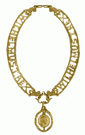 Wilhelm-Orden - Image: De gouden keten van de Wilhelm Orde van Pruisen 1896 tot 1918