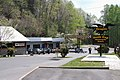 Deal's Gap Motorcycle Resort, NC parking lot, sign.jpg