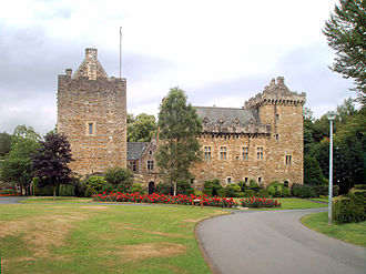Clan Boyd - Dean Castle, previously known as Kilmarnock Castle, ancient stronghold of the chiefs of Clan Boyd