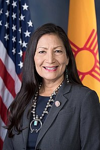 Deb Haaland official portrait, 116th congress 2