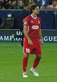 Dedi Ben Dayan, playing for Hapoel Tel Aviv in UEFA Champions League, 2010.jpg