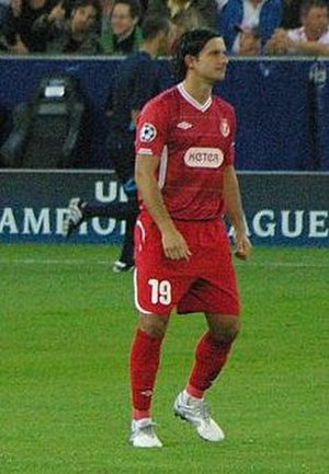 Dedi Ben Dayan - Ben Dayan playing for Hapoel Tel Aviv in 2010