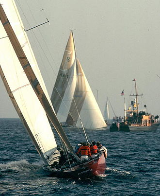 Liberty (yacht) - Liberty in 1983.
